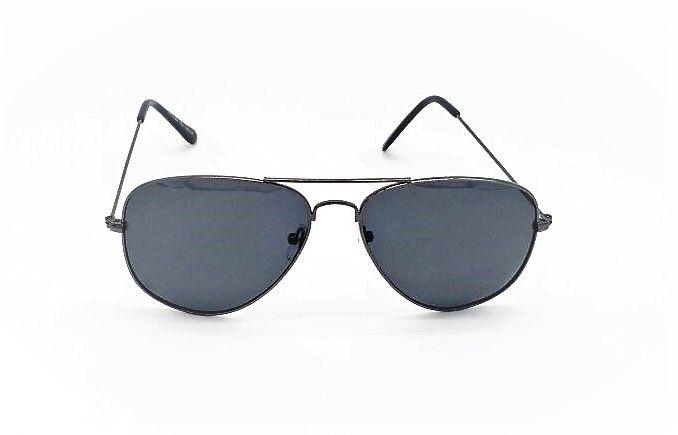 7b6588ad62090 Óculos de Sol VEZATTO Aviador Polarizado Metal Preto SSJ3026 C1 ...