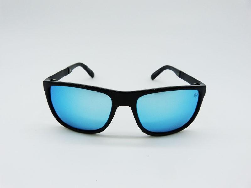 2d1bb11bfd258 Óculos de Sol Masculino VEZATTO Espelhado Azul Polarizado 032P - VEZATTO