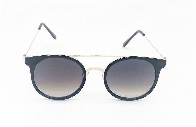 6913195c1d1e2 Óculos de Sol VEZATTO Dourado Feminino Preto H01538 C1 - VEZATTO