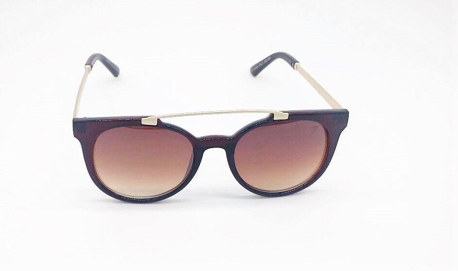 61b1b933cb202 Óculos de Sol VEZATTO Feminino Marrom LM9271 c5 - VEZATTO