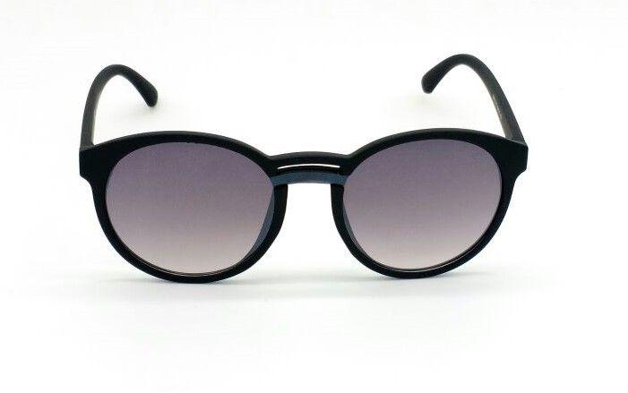 219e499018c76 Óculos de Sol VEZATTO Feminino Preto Lente Flat YD1719 C1 - VEZATTO