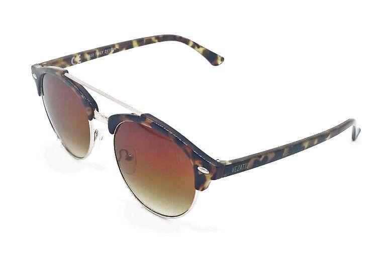3fceef257a53d Óculos de Sol VEZATTO Marrom Aviador Acetato Metal YD1702 C6 - VEZATTO
