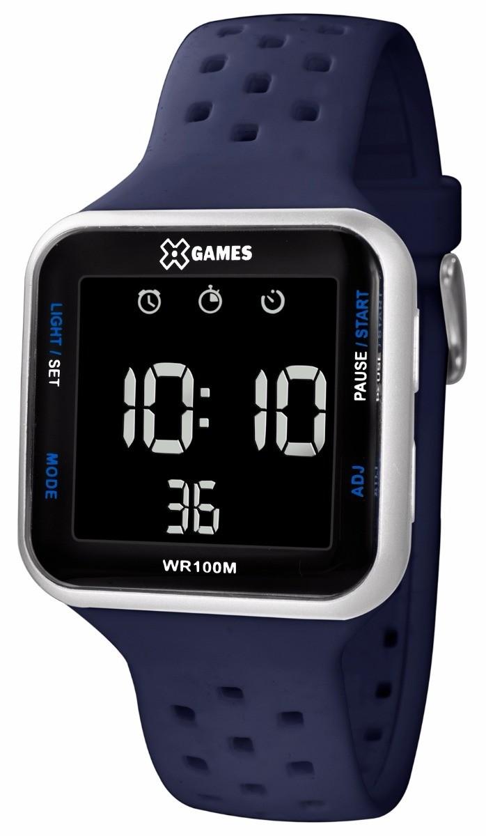 af7d15ef8ab Relógio Esportivo XGames Azul Visor Digital XGPPD092 PXDX - VEZATTO