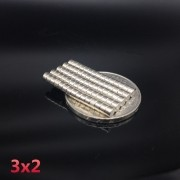 Ima De Neodímio / Super Forte / 3mm X 2mm * 50 Peças *