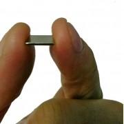 Imãs De Neodímio 10 Peças 10mm X 10mm X 1mm / Super Forte