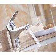 Torneira Monocomando Banheiro Metal Misturador Cromado