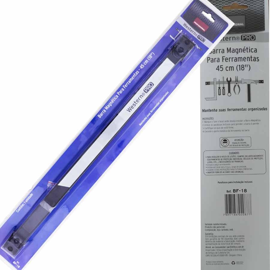 Imã Barra Magnética 45cm Pendurar Ferramenta Facas Régua Magnetica Suporte Faca Cozinha Suporte Ferramentas