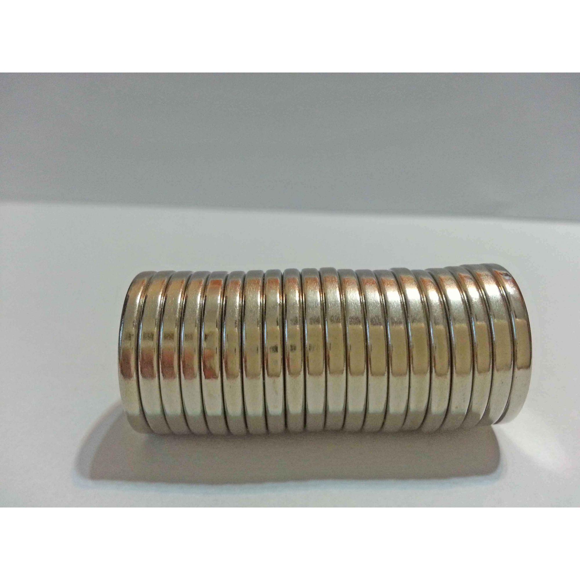 imã de neodímio 18mm x 2mm - 200 peças