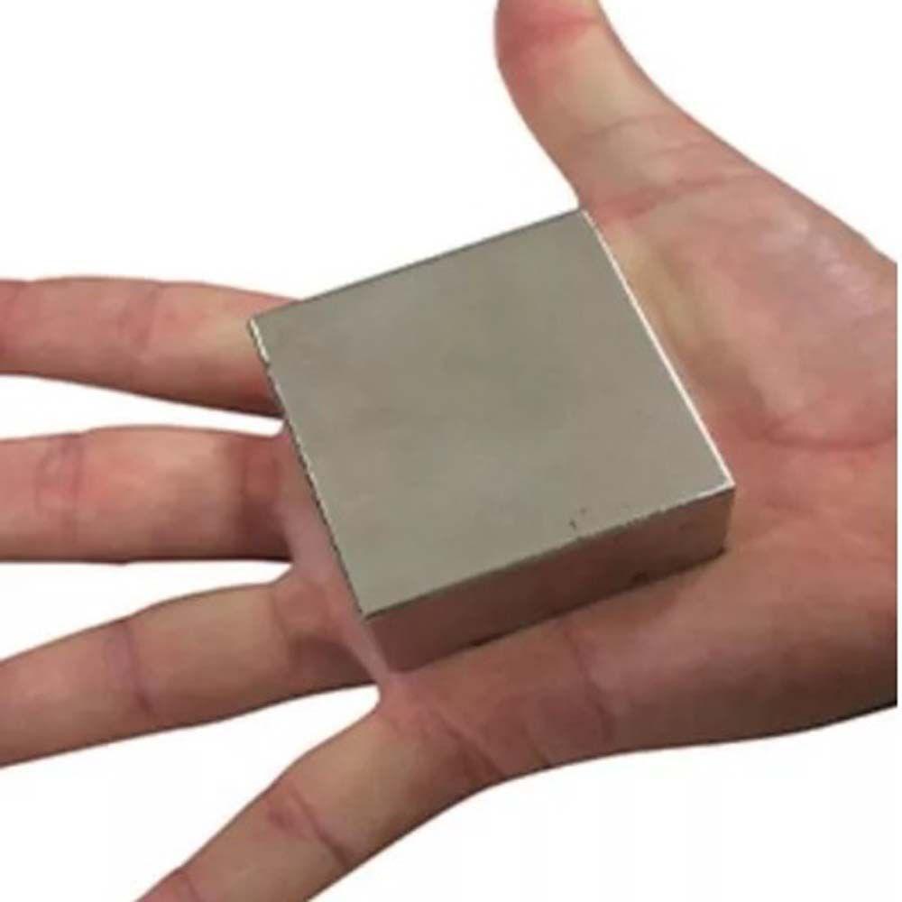 Imã De Neodímio N52 , 50,8mm X 50,8mm X 25,4mm - Super Imã