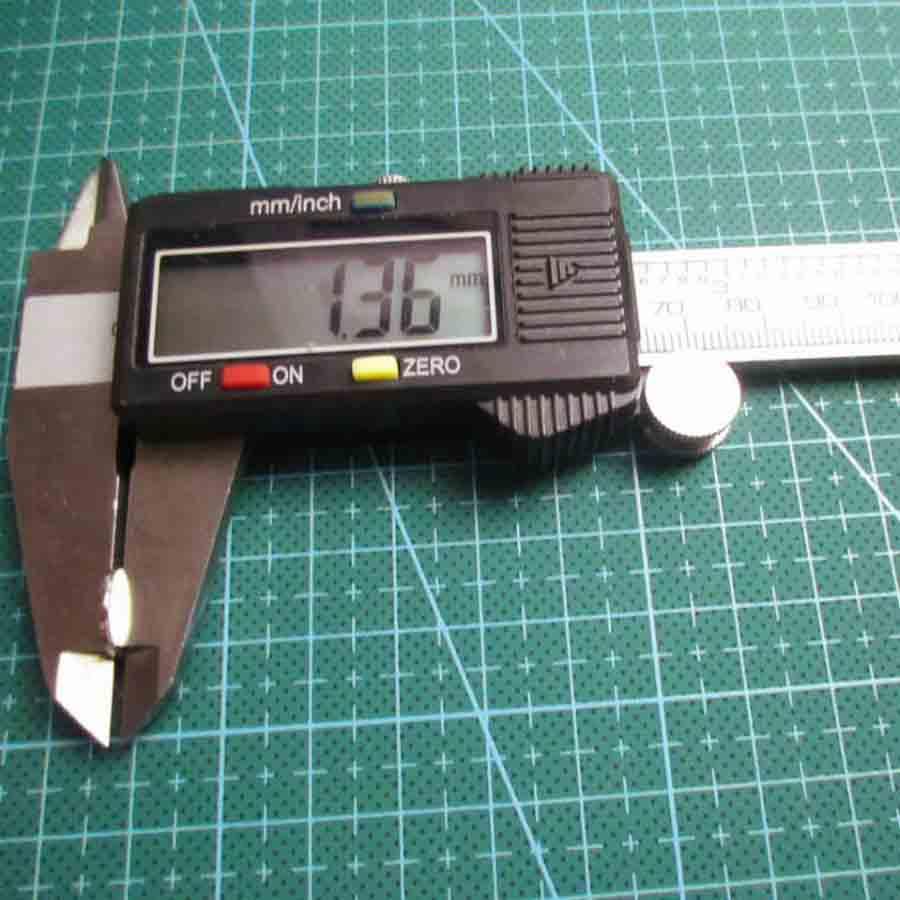 Ima De Neodímio / Super Forte / 10mm X 1,5mm , 100 Peças