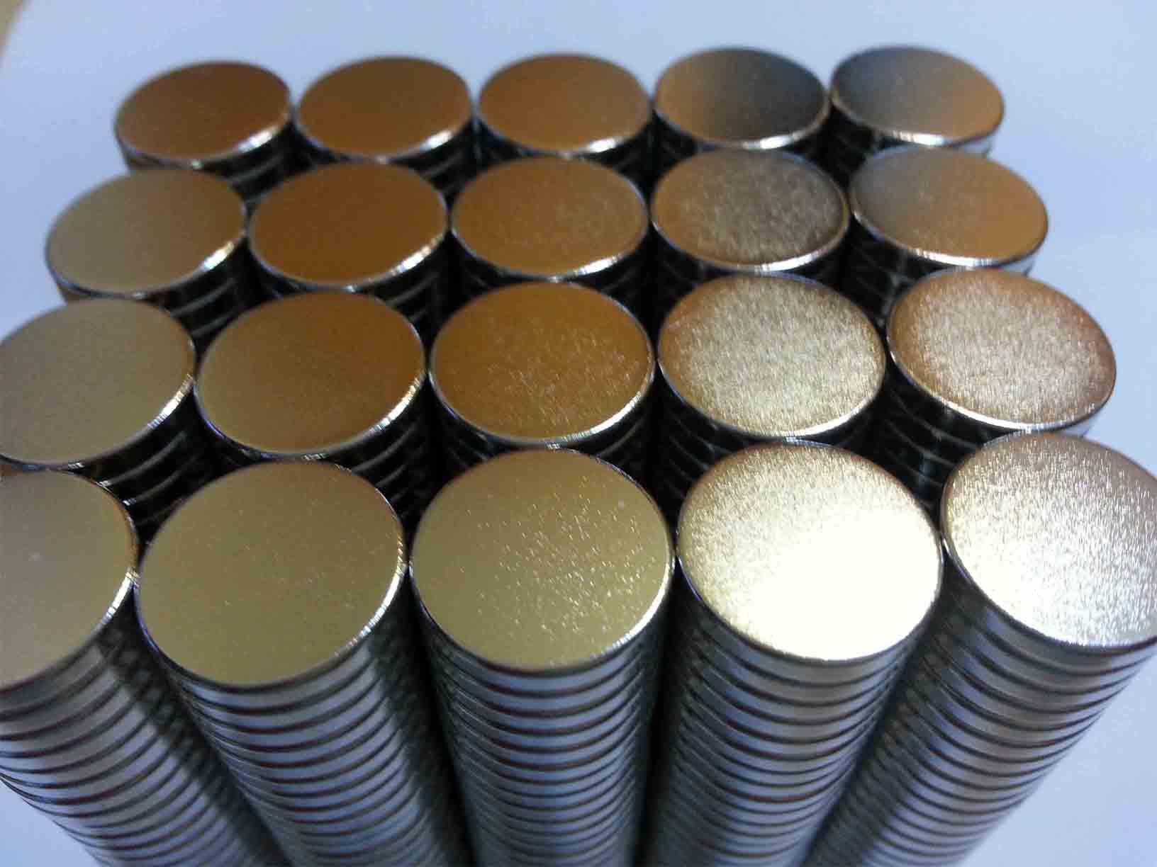 Ima De Neodimio / Super Forte / 12,5mm X 2mm  Kit com 20 Peças