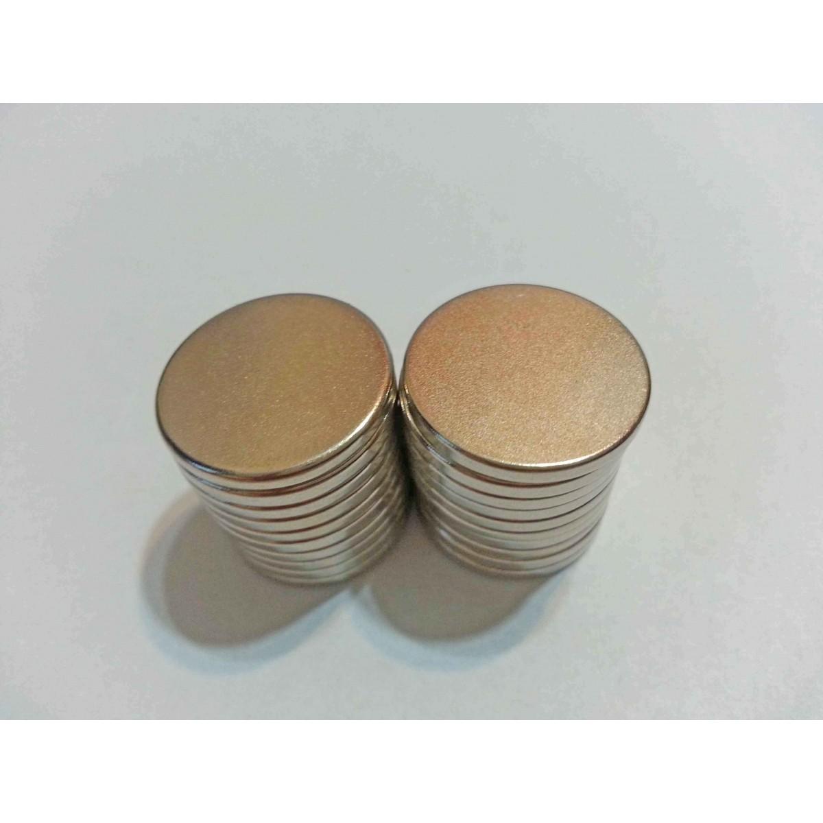 Imã De Neodímio / Super Forte / 18mm X 2mm , 5 Peças