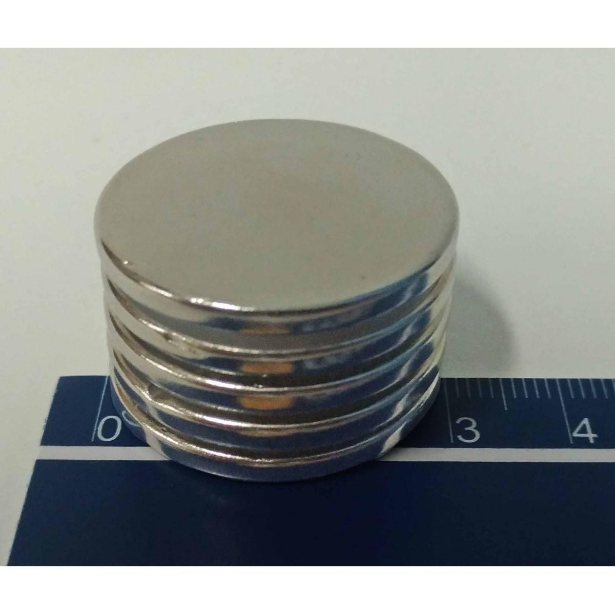Imã De Neodímio / Super Forte / 30mm X 3mm * 5 Peças