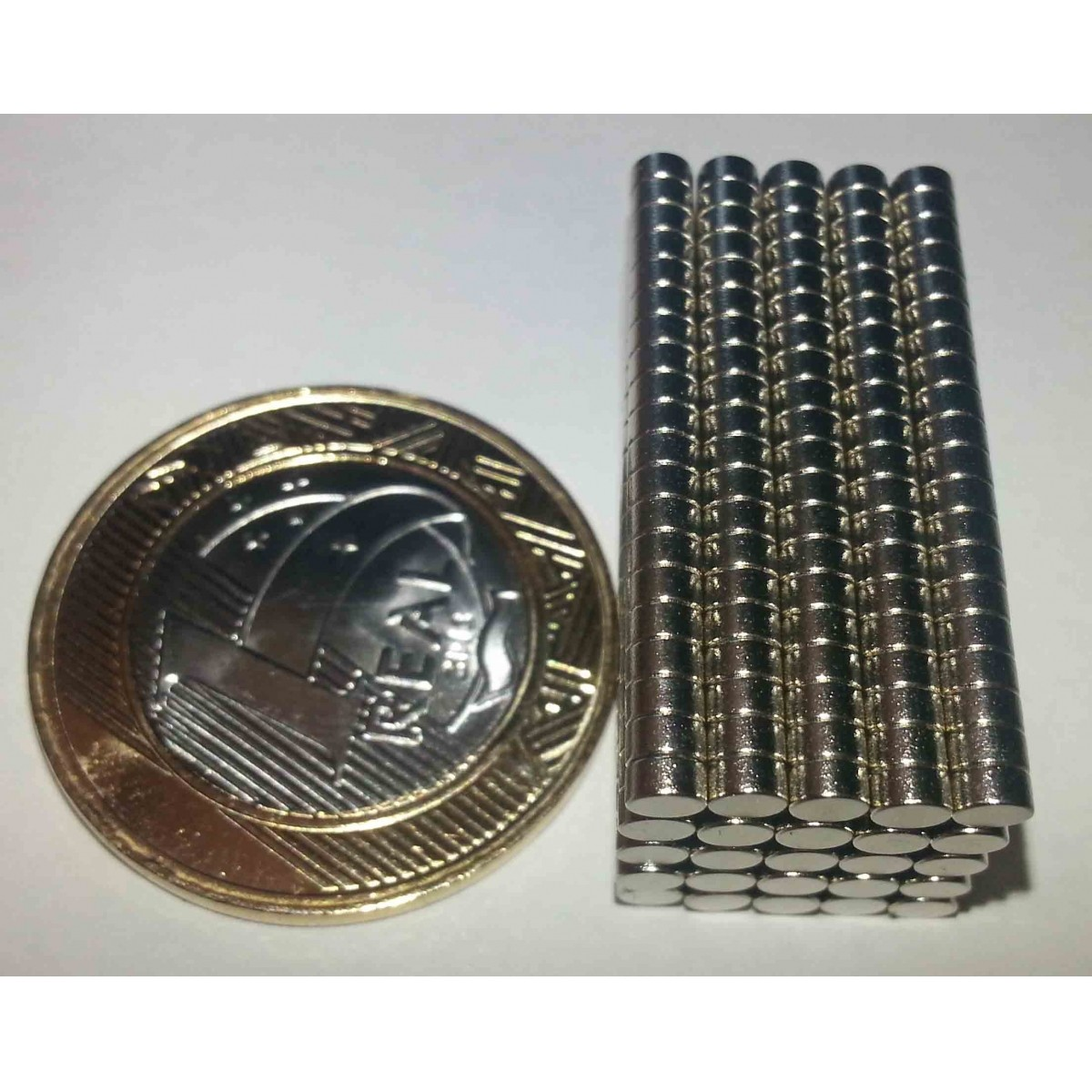Ima De Neodímio / Super Forte / 3mm X 1,5mm  1.000 Peças