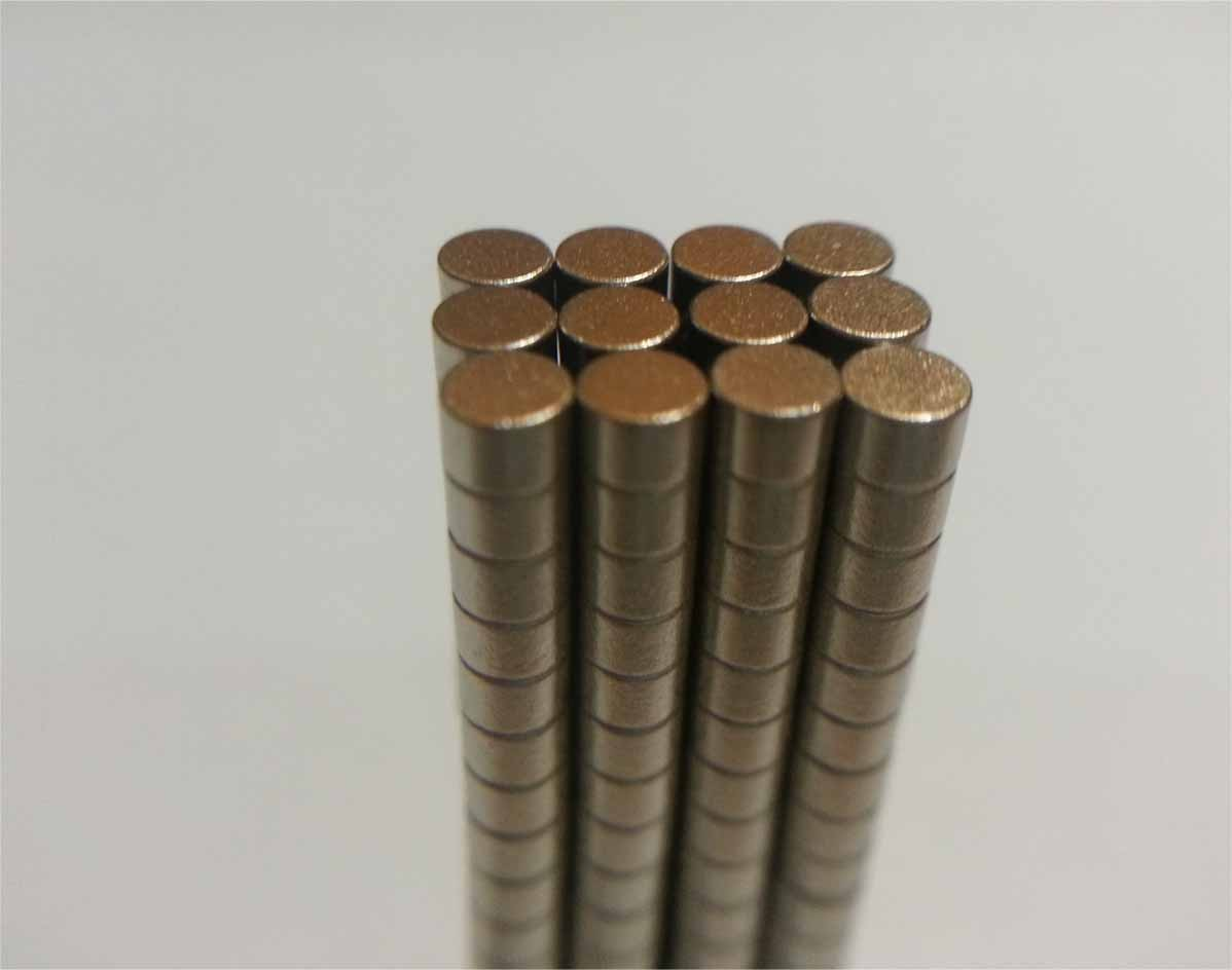Ima De Neodímio / Super Forte / 3mm X 2mm * 100 Peças *