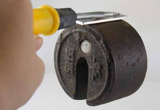 Imã De Neodímio / Super Forte / 40mm X 9mm X 2mm com 5 Peças