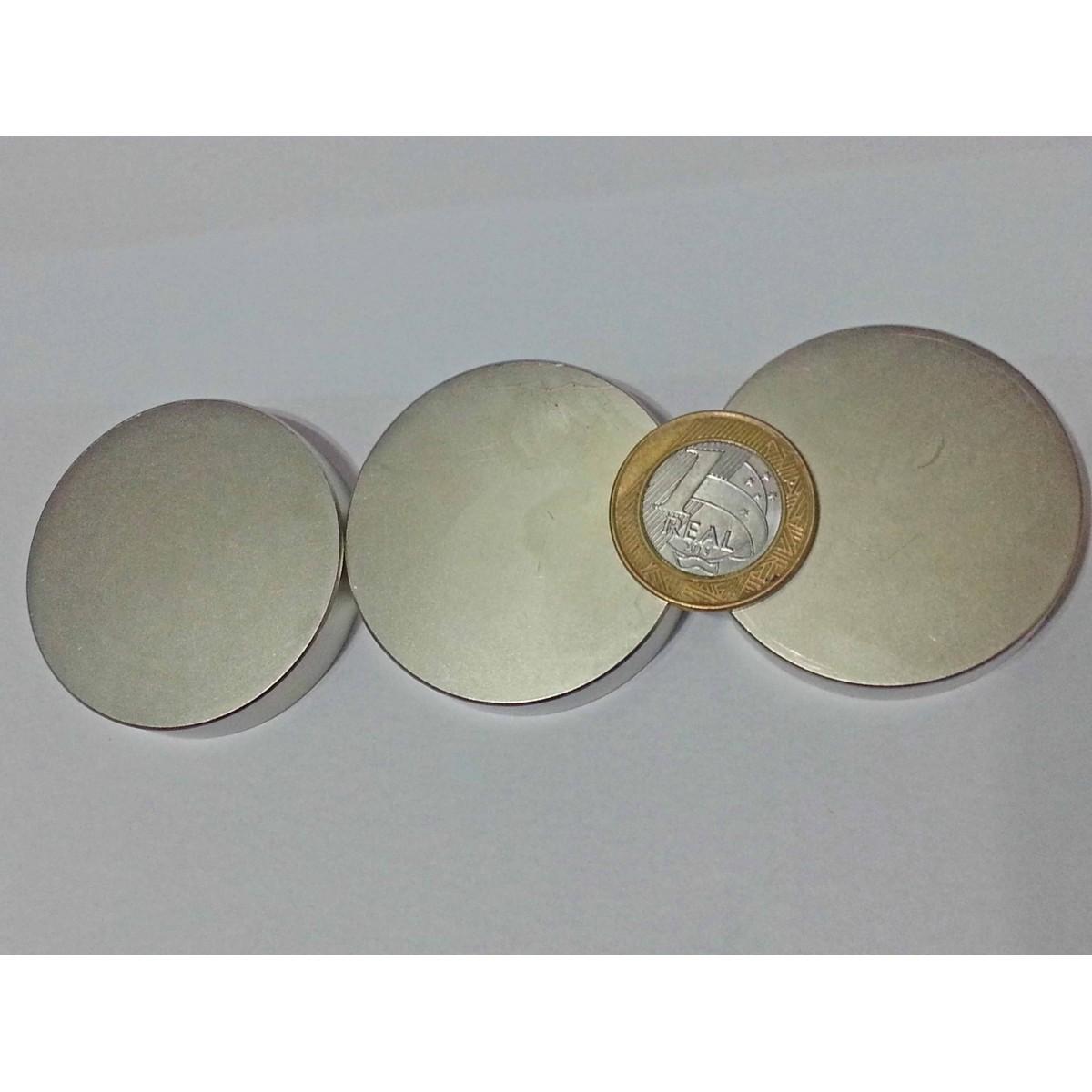 Imã De Neodímio / Super Forte / 48mm X 10mm * 1 Peça
