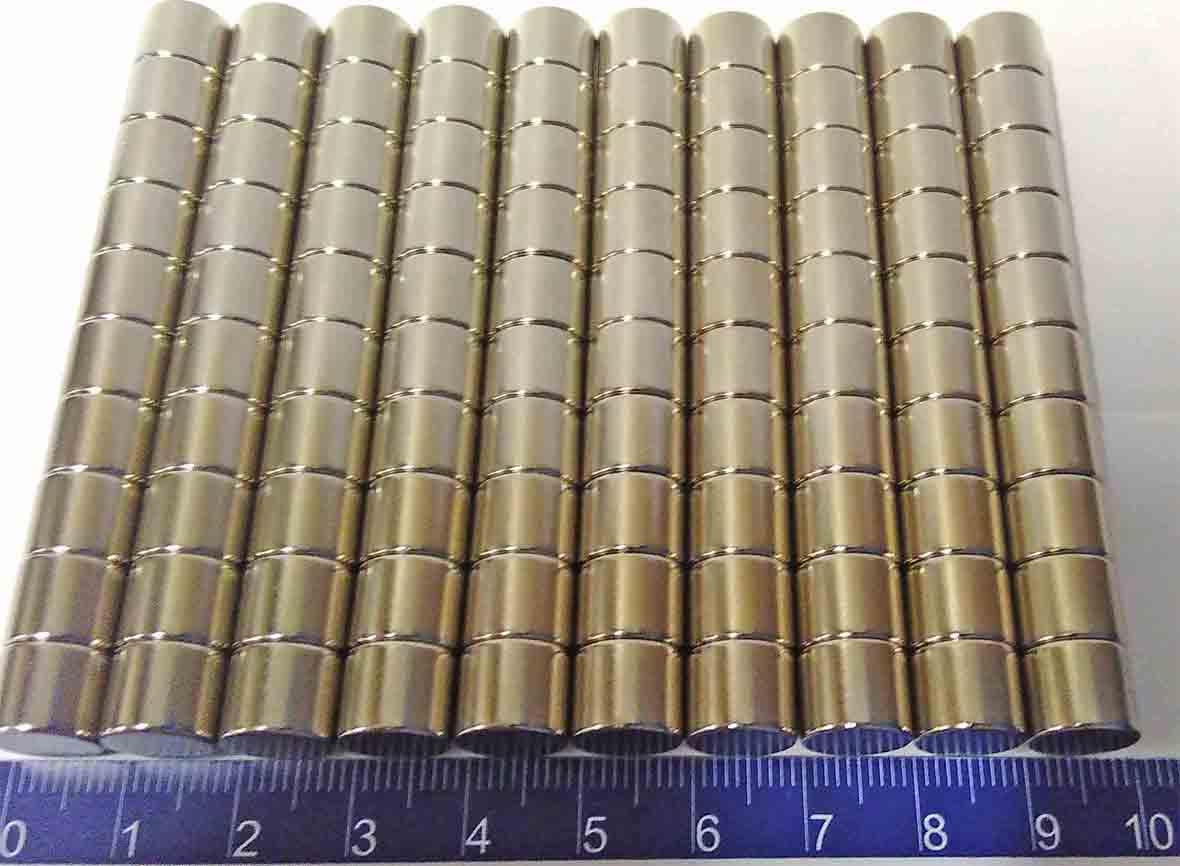 Imãs De Neodímio 10mm X 8mm - 20peças / Super Forte