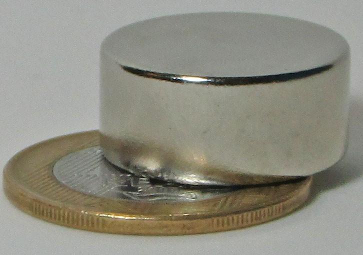 Imãs De Neodímio N45 - 22mm X 10mm - 4 Peças / Super Forte