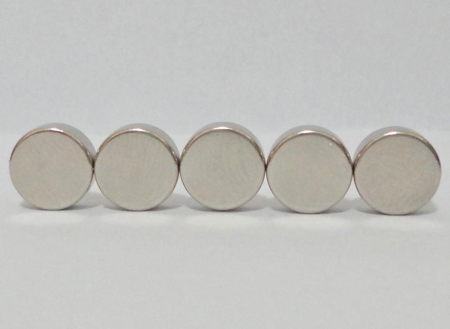 Imas De Neodímio / Super Forte 10mm X 4mm , 10 Peças
