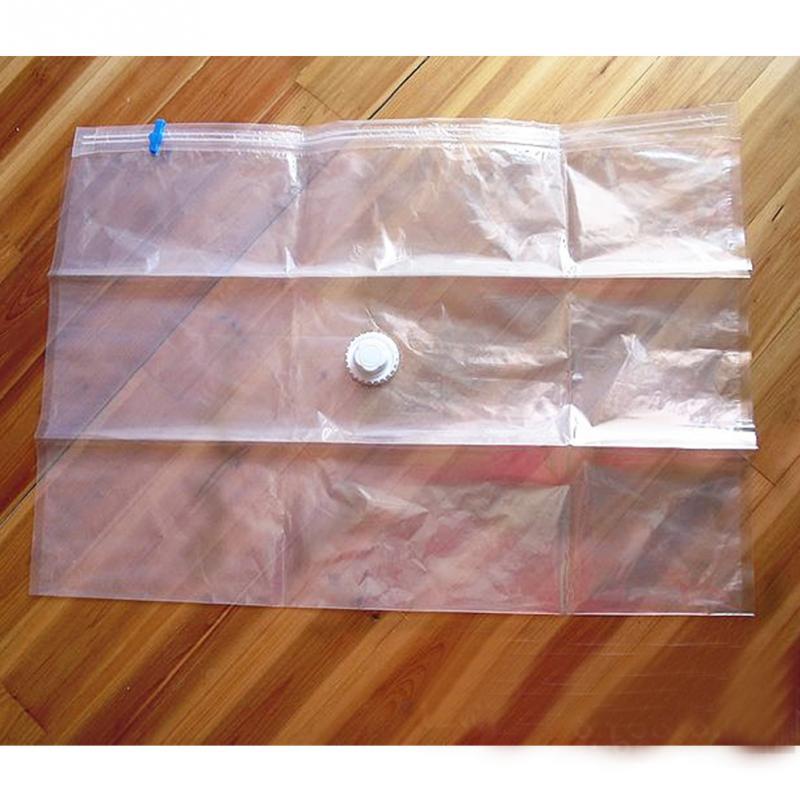 Kit 10 Sacos À Vácuo 60x50cm Organizador de Roupa Protetor