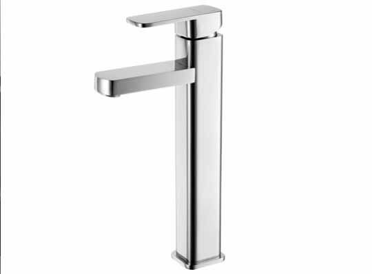 Torneira Monocomando Alta Banheiro Metal Lavabo Misturador