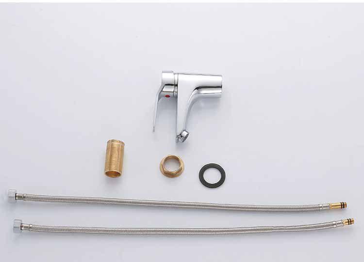 Torneira Monocomando Banheiro, de Metal, Misturador, Cromada