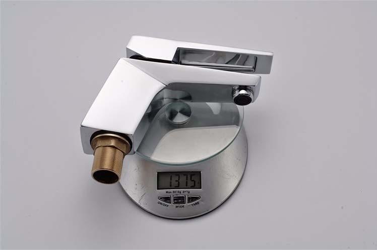 Torneira Monocomando Metal Misturador Cromado Quente E Frio