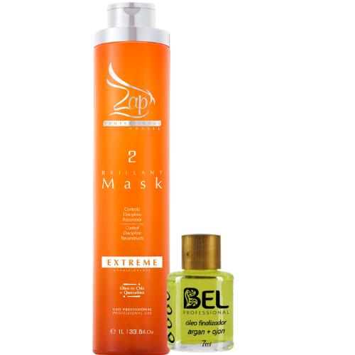 c0802be70 Zap Progressiva Extreme Sem Formol 1L Passo 2+ Óleo Bel - Bel Hair  Cosmeticos
