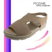 Sandália Tratorada Plataforma Feminina Modare Ultra Conforto
