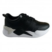 Tênis Ramarim Chunky Sneaker Feminino - Preto Branco
