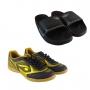 Kit Combo Chuteira Futsal + Chinelo Slide Dray Original