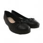Sapato Feminino Anabela Moleca Confortável Preto