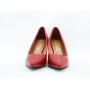 Sapato feminino bico fino salto Vizzano
