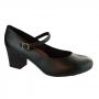 Sapato Feminino Salto Alto Couro Moleca