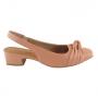 Sapato Feminino Usaflex Esporão Ortopédico Salto Baixo
