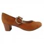 Sapato Scarpin Boneca Delicado Beira Rio Salto Medio