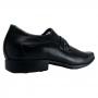 Sapato Social Pegada Masculino Preto Couro Legitimo