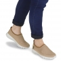 Tênis Usaflex Feminino Slip On Sporty Confortável Malha Knit