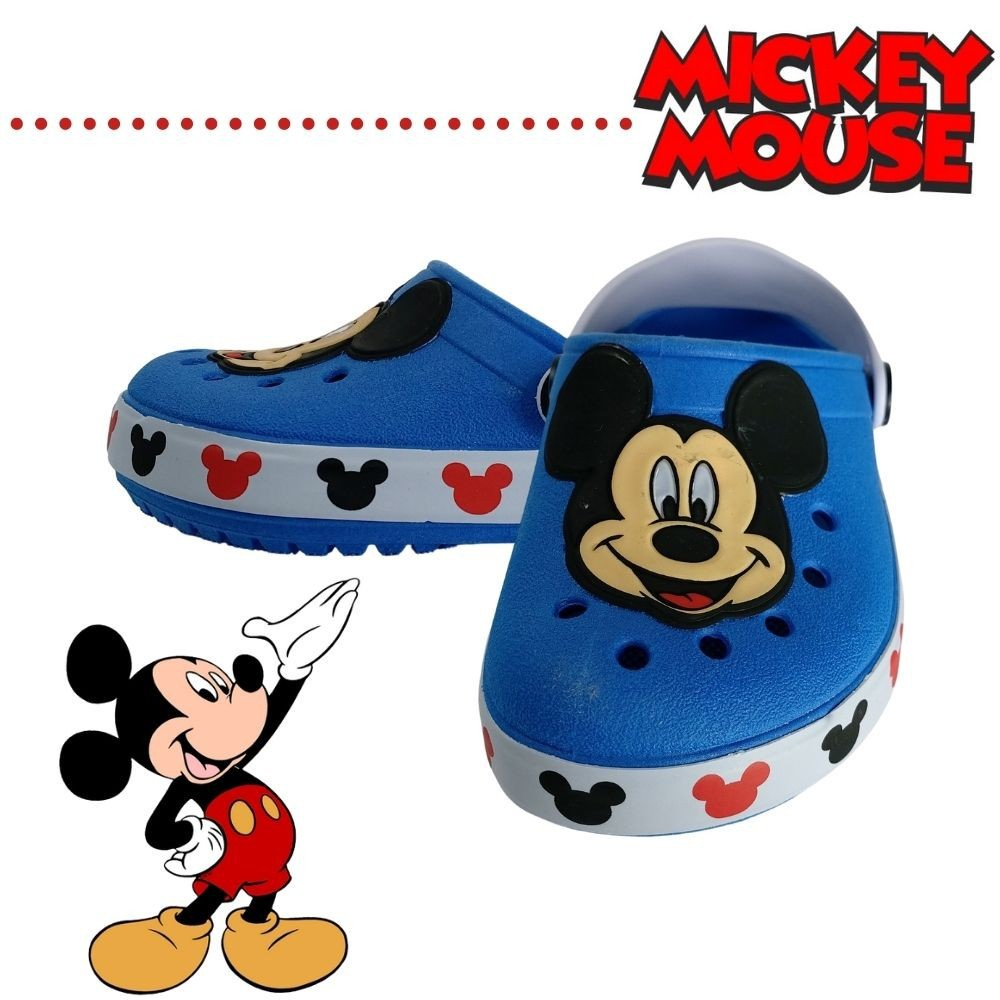 Babuche Crocs Infantil Disney Mickey Menino Kids