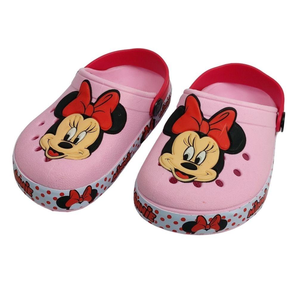 Babuche Crocs Infantil Disney Minnie Menina Kids