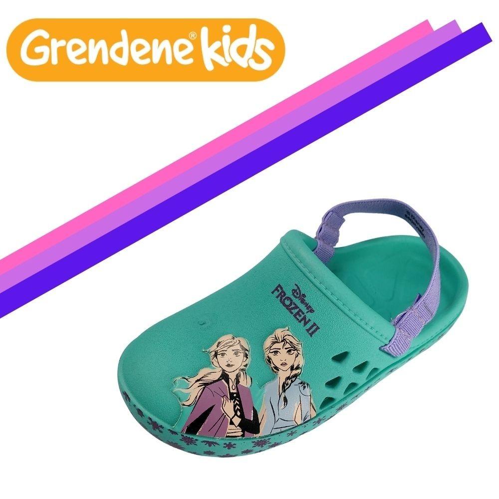 Babuche Crocs Infantil Toy Story e Frozen Original Grendene - Azul - 21