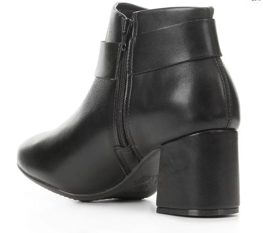 Bota Feminina Casual Salto Robusto Beira Rio Ankle Boot