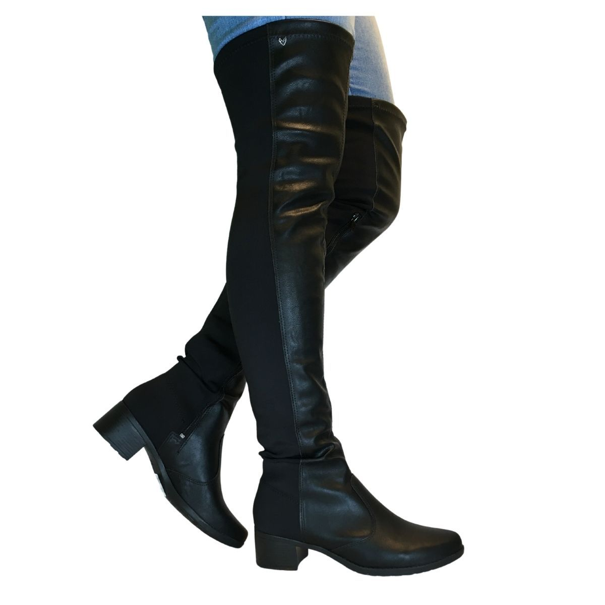 Bota Over The Knee Feminina Mississipi