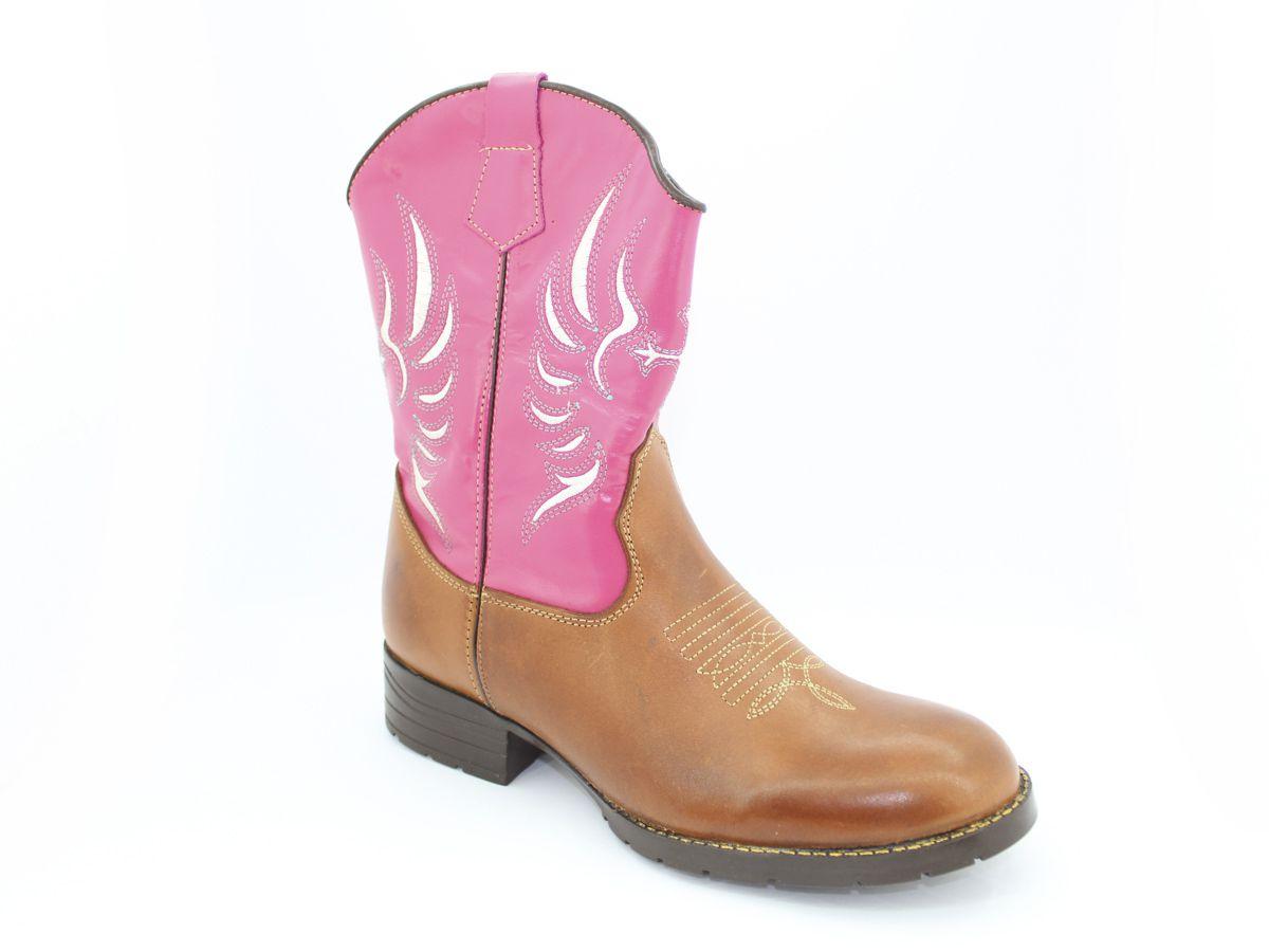 Bota Texana Country Estilosa Feminina Vilela