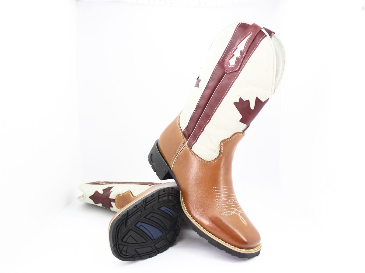Bota Texana Masculina Country Original Vilela