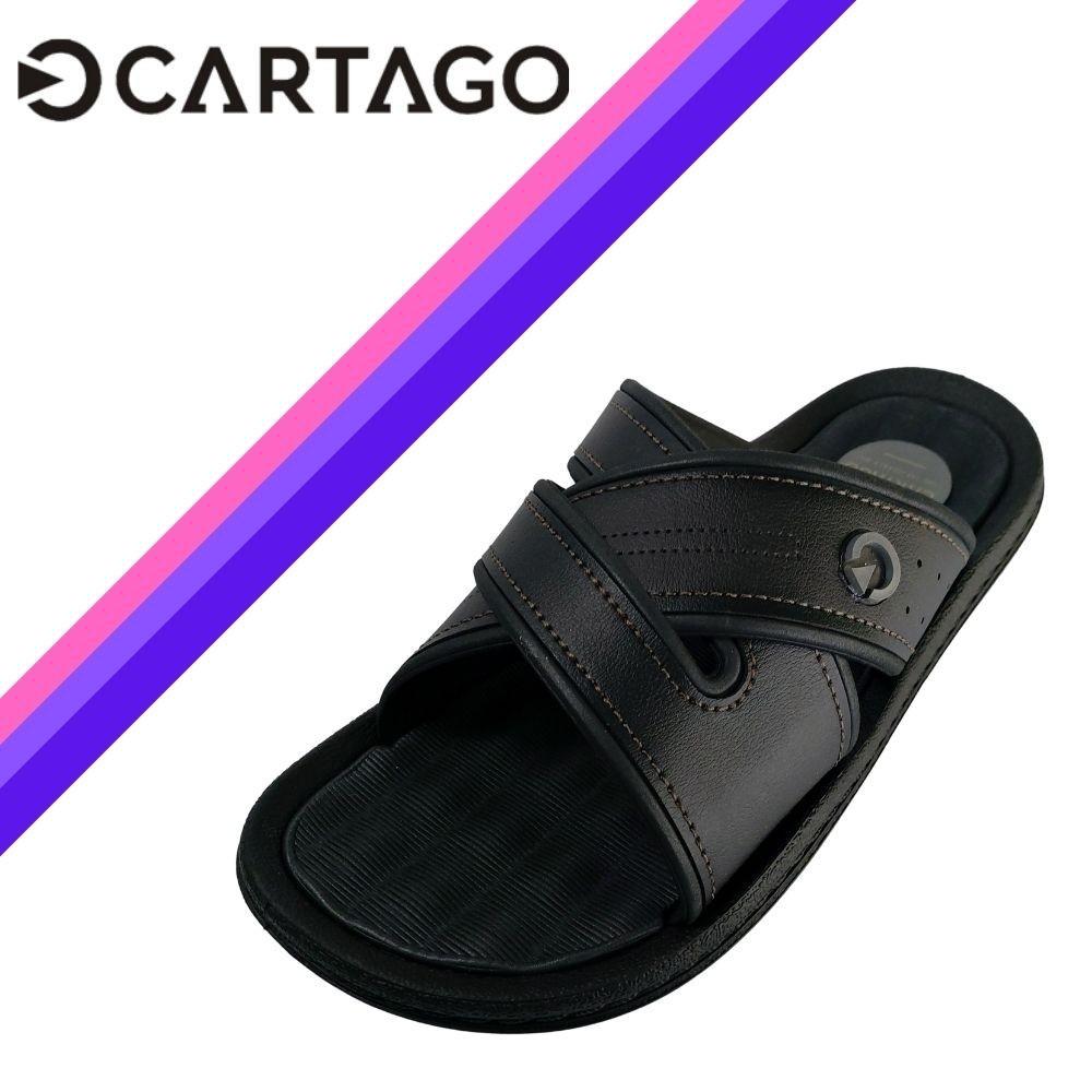 Chinelo Cartago Masculino Slide Classico Original Napoles