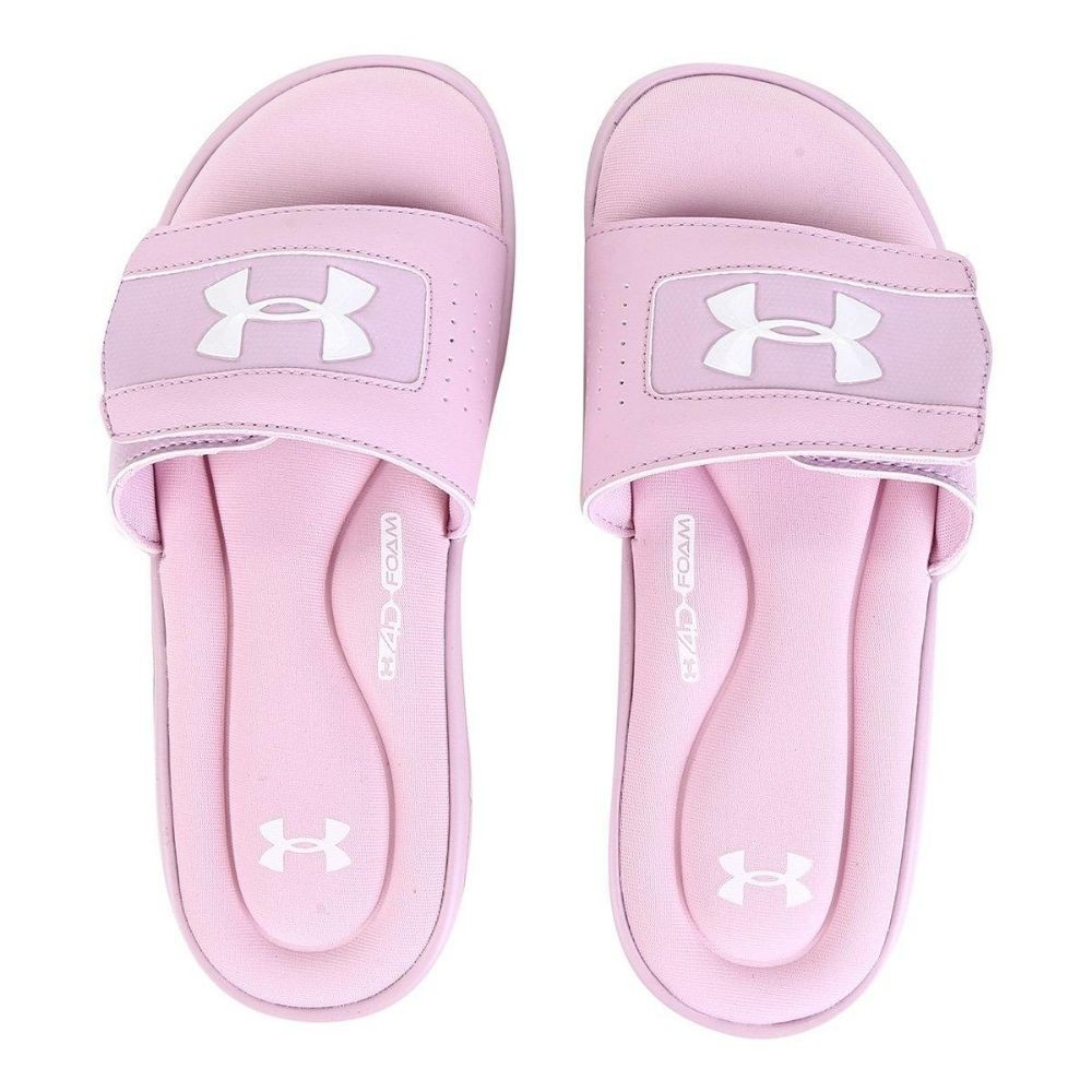 Chinelo Feminino Slide Under Armour Ignite Rosa