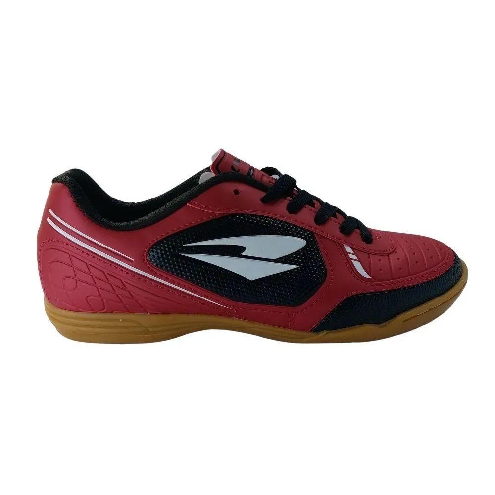 Chuteira Dray Tênis Futsal Masculina Adulta - Vermelho