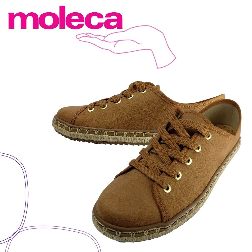 Oxford feminino confortavel  Moleca